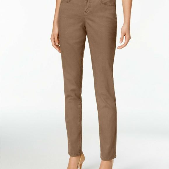 Style & Co Denim - Style & Co Tummy Control Slim Leg Jeans Size 6